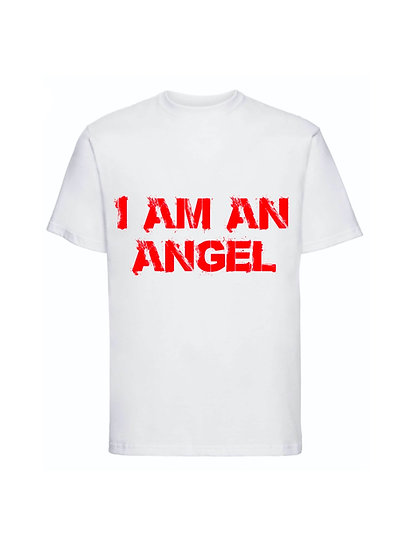 Maglia Bianca I am an Angel Unisex 2021