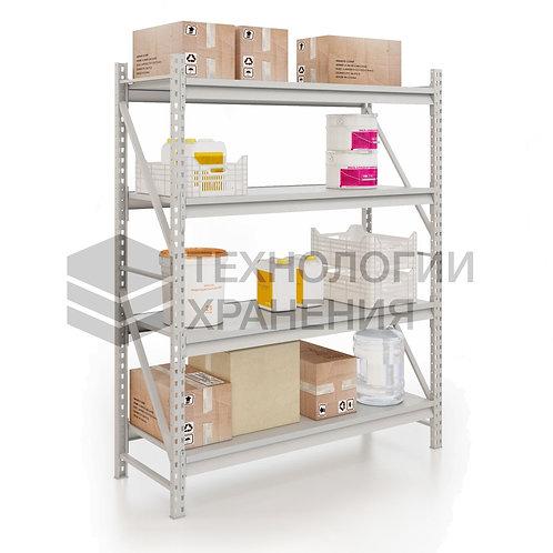 Стеллаж для гаража, полочный 2000х1750х600 (4яруса)