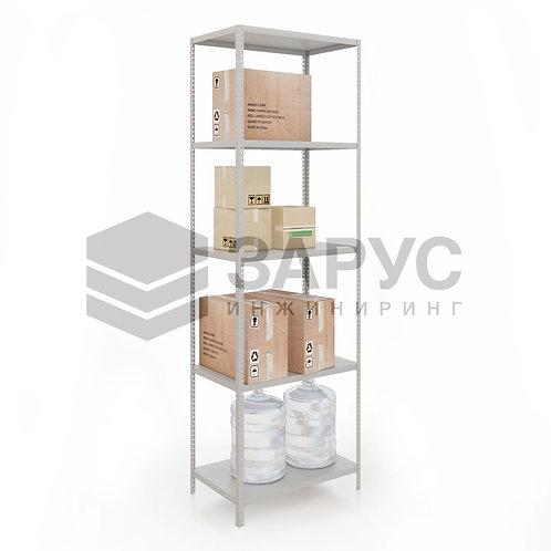 Стеллаж архивный полочный 2000х800х500 (5полок)
