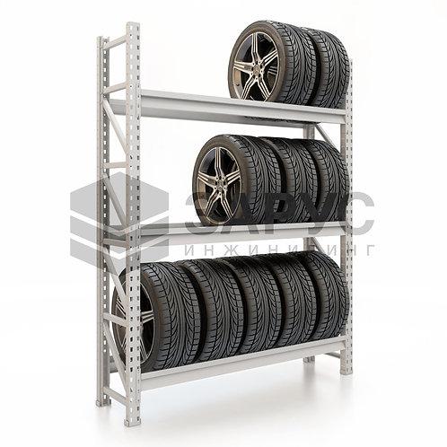 Стеллаж для колес 2000х1500х400 (3 яруса)