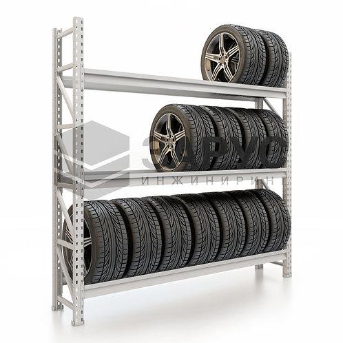 Стеллаж для колес 2000х2000х400 (3 яруса)