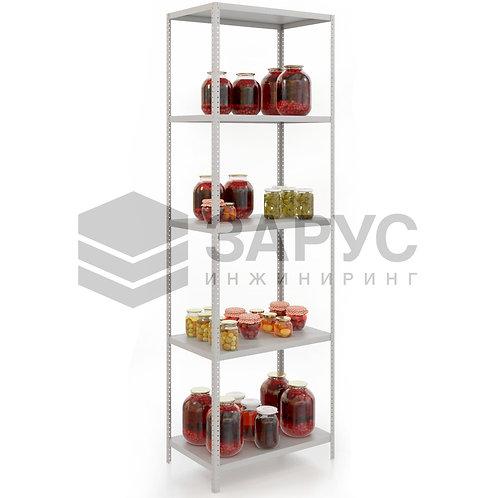 Стеллаж архивный полочный 2450х800х400 (6полок)