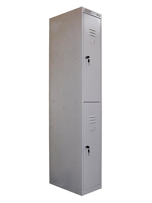 Металлический шкаф для одежды ШРС-12дс-300