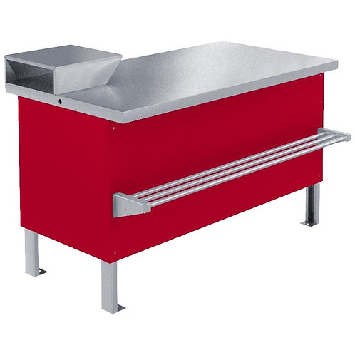 Прилавок холодильный «Мясной» ПХС-1,55/0,85 (встр)