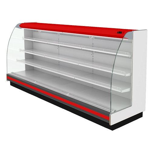 Пристенная витрина Варшава 160/94 ВХСп-3,75