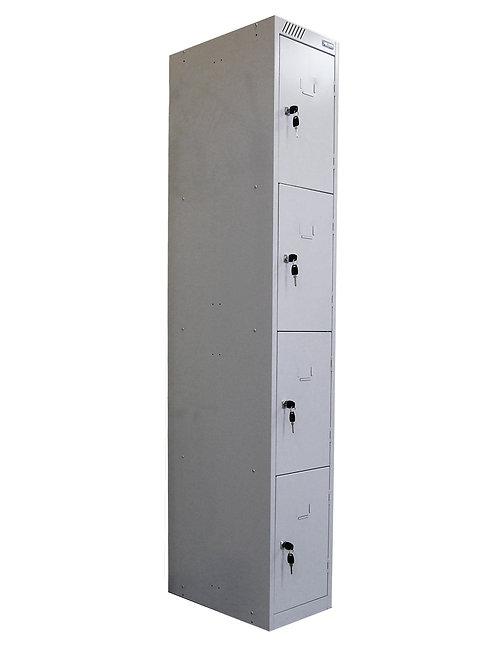 Металлический шкаф для сумок ШРС-14-300 (4 секц)
