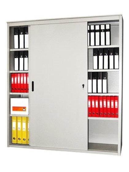 Металлический шкаф-купе архивный AL 2012