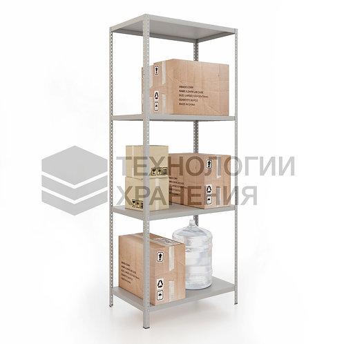 Стеллаж для гардеробной, полочный 2000х1000х500 (4полки)