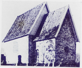(Gamle) Frogner kirke, bygget før 1250