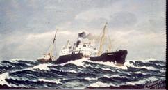 Dampskipet Heien av Oslo 1930-tallet