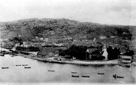 Egersund på begynnelsen av 1900-tallet
