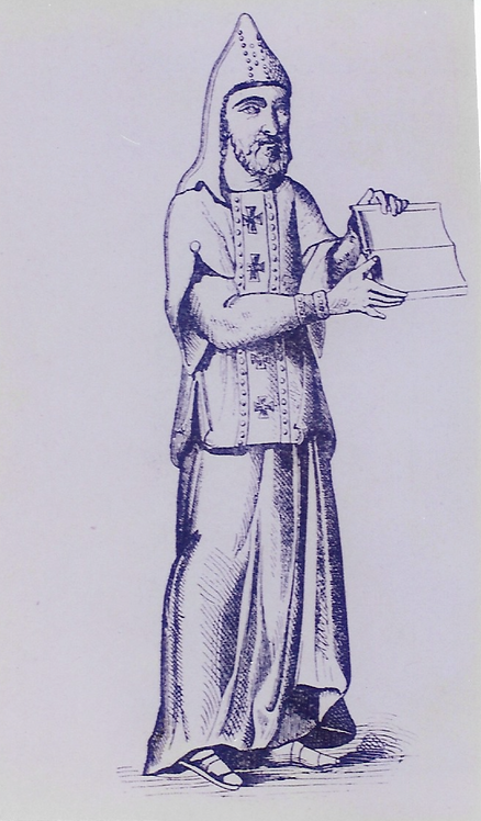 Bilde 216 Benediktiner munk