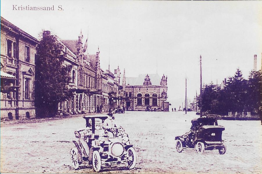 Bilde 175 De første bilene i Kristiansan