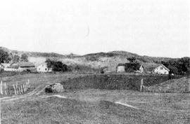 Gården Glypstad i Helleland