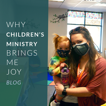 Why Children's Ministry Brings Me Joy