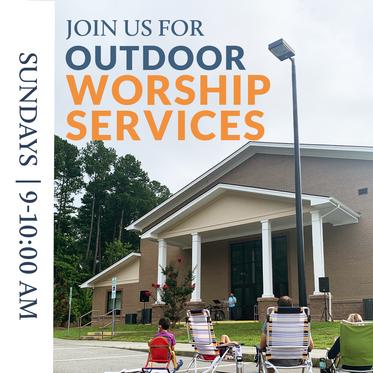Outdoor Worship Service - Update