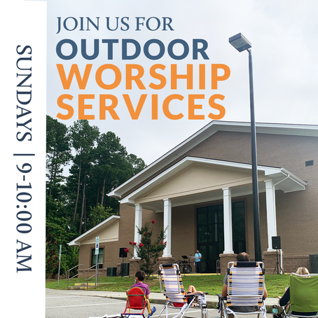 Outdoor Worship Service - Update