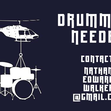 Drummers Needed!