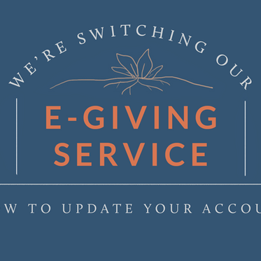 Switching your E-Giving Account