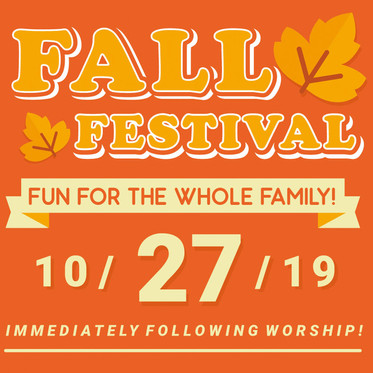 Fall Festival - CANCELLED