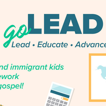 goLEAD - Help refugee and immigrant kids with their homework!