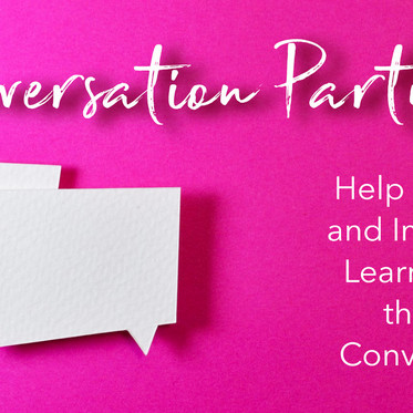 Conversation Partners - Help Refugees and Immigrants Learn English!