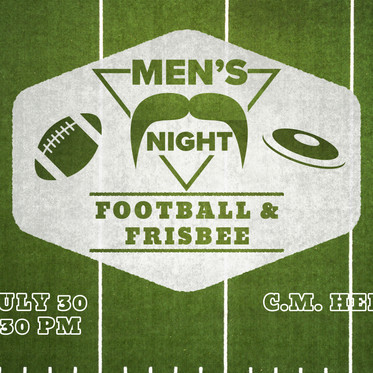 Men's Night - Football & Frisbee
