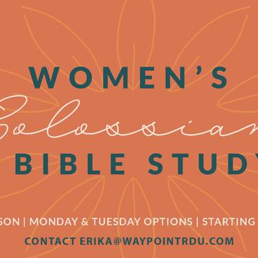 Women's Colossians Bible Study