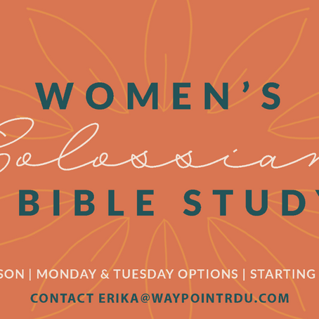 Women's Colossians Bible Study