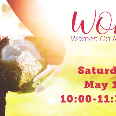Women on Mission - Next Meeting