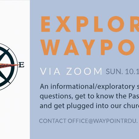 Explore Waypoint