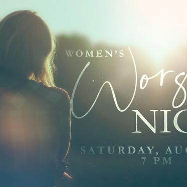 Women's Worship Night