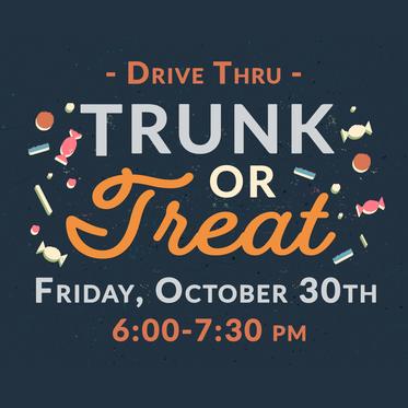 Drive Thru Trunk or Treat