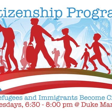 Citizenship Program - Help refugees and immigrants become citizens!