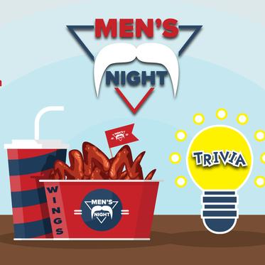 Men's Night - Wings & Trivia