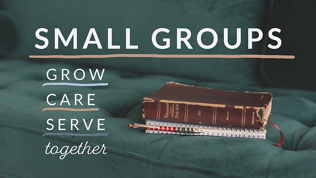 Waypoint Sunday Slide- Small Group Sign-
