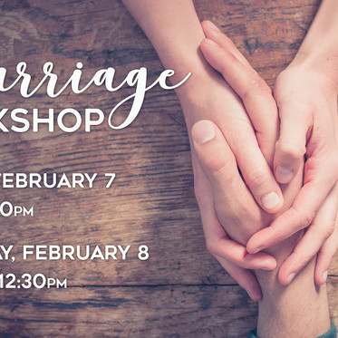 Waypoint Marriage Workshop