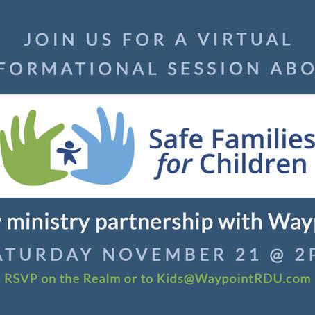 Safe Families Interest Meeting