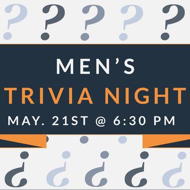 Men's Trivia Night