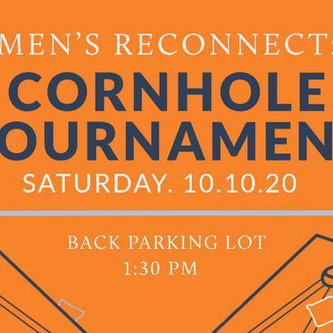 Men's Reconnect: Cornhole Tournament