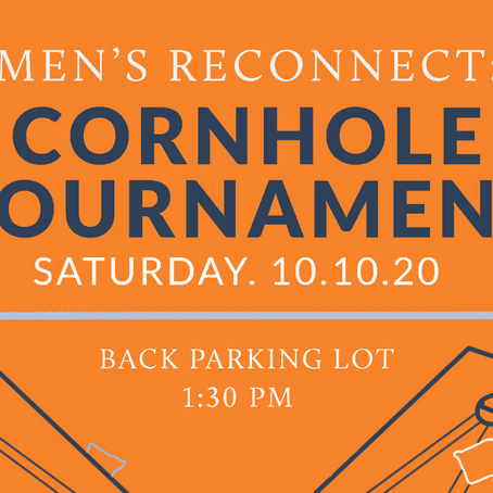 Men's Reconnect: Cornhole Tournament