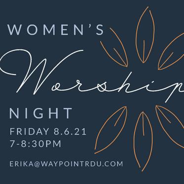 Women's Prayer and Worship Night