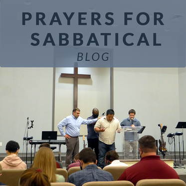 Prayers for Sabbatical