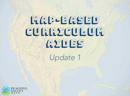 Map-Based Curriculum Aides: Update 1