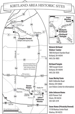 Kirtland Area Historic Sites of The Church of Jesus Christ of Latter-day Saints