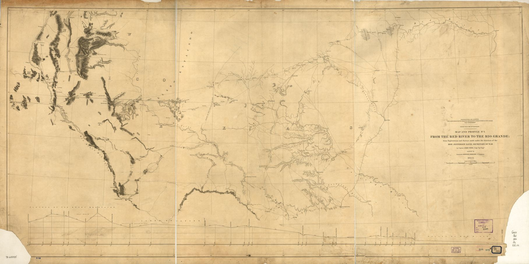 1859 - From the Red River to the Rio Grande