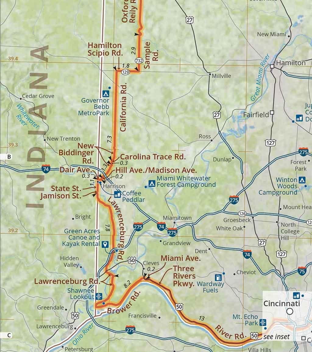Southern Ohio Road Tour