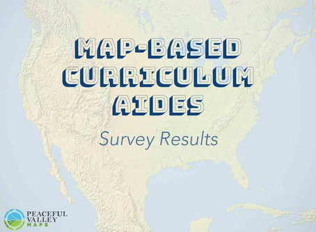 Map-Based Curriculum Aides: Survey Results