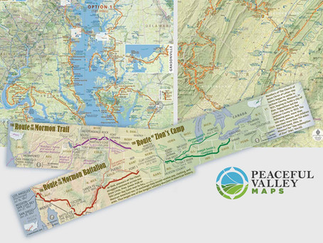 Three Awards From 2020 CaGIS Map Design Competition