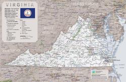 Virginia Road Trip Map